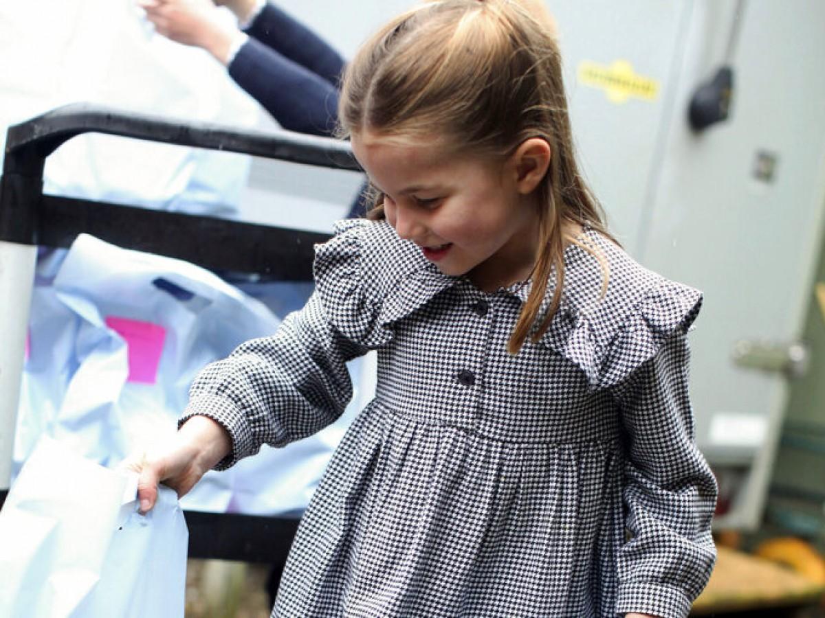 La princesa Charlotte cumple cinco años