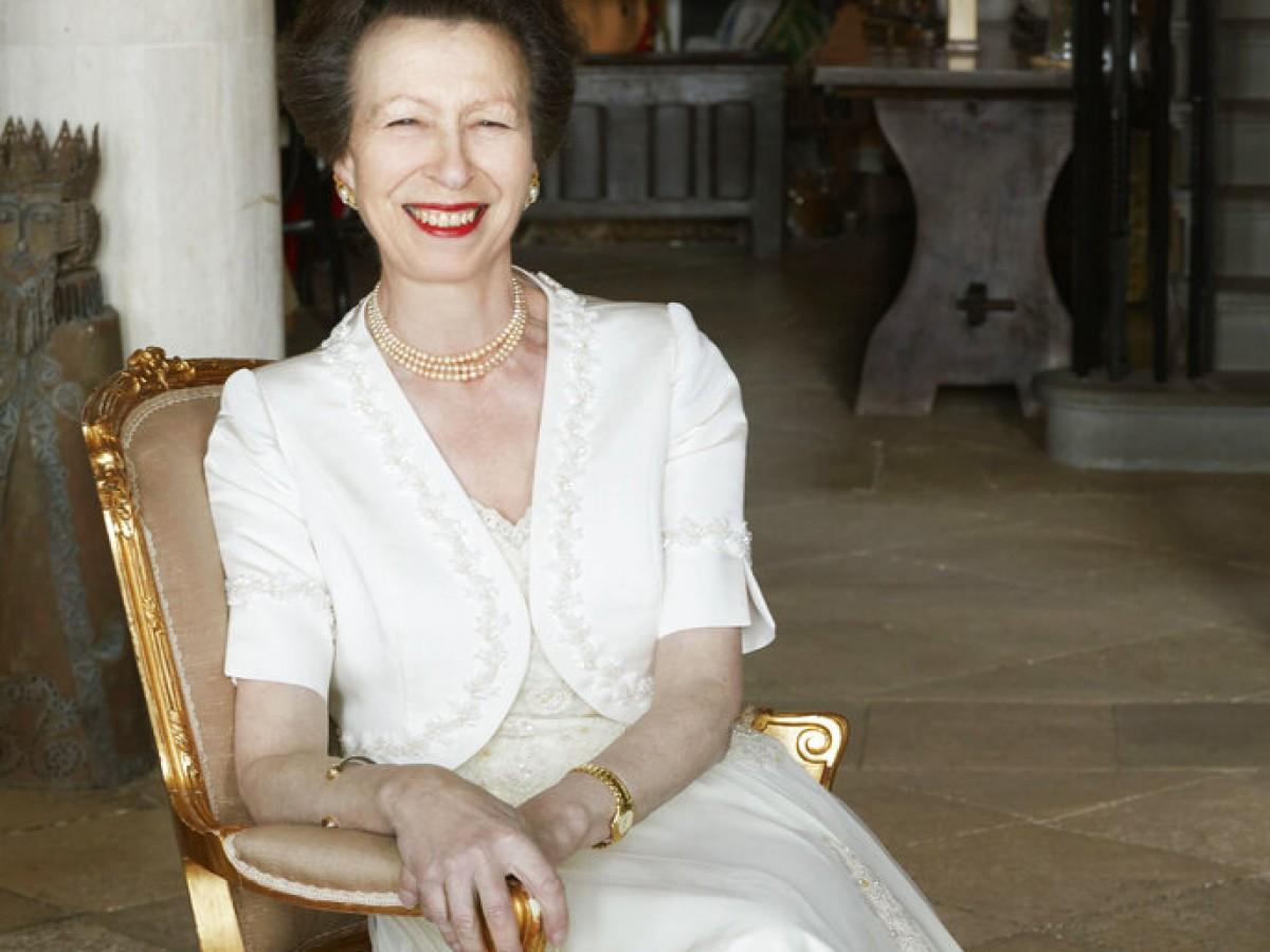 La princesa Anne celebra su cumpleaños en compañía de sus padres