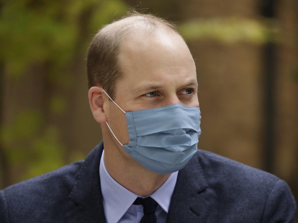 El príncipe William tuvo COVID-19 en abril
