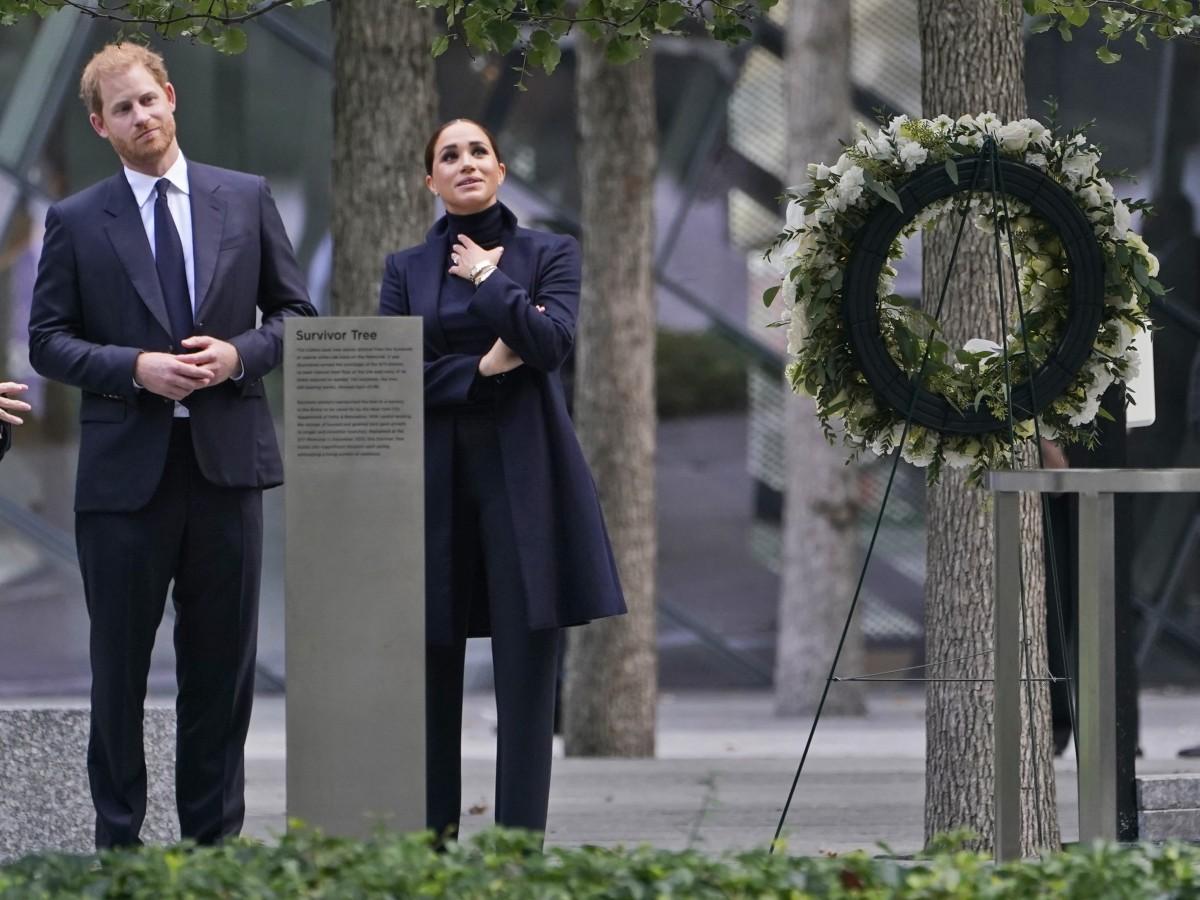 Harry y Meghan visitan el observatorio del World Trade Center en Nueva York