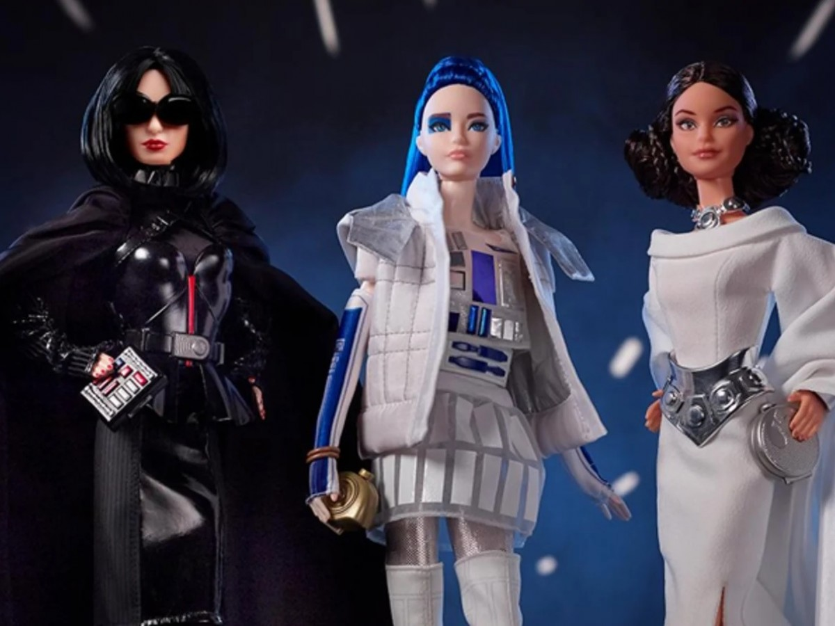 Barbie viaja hasta la galaxia de Star Wars