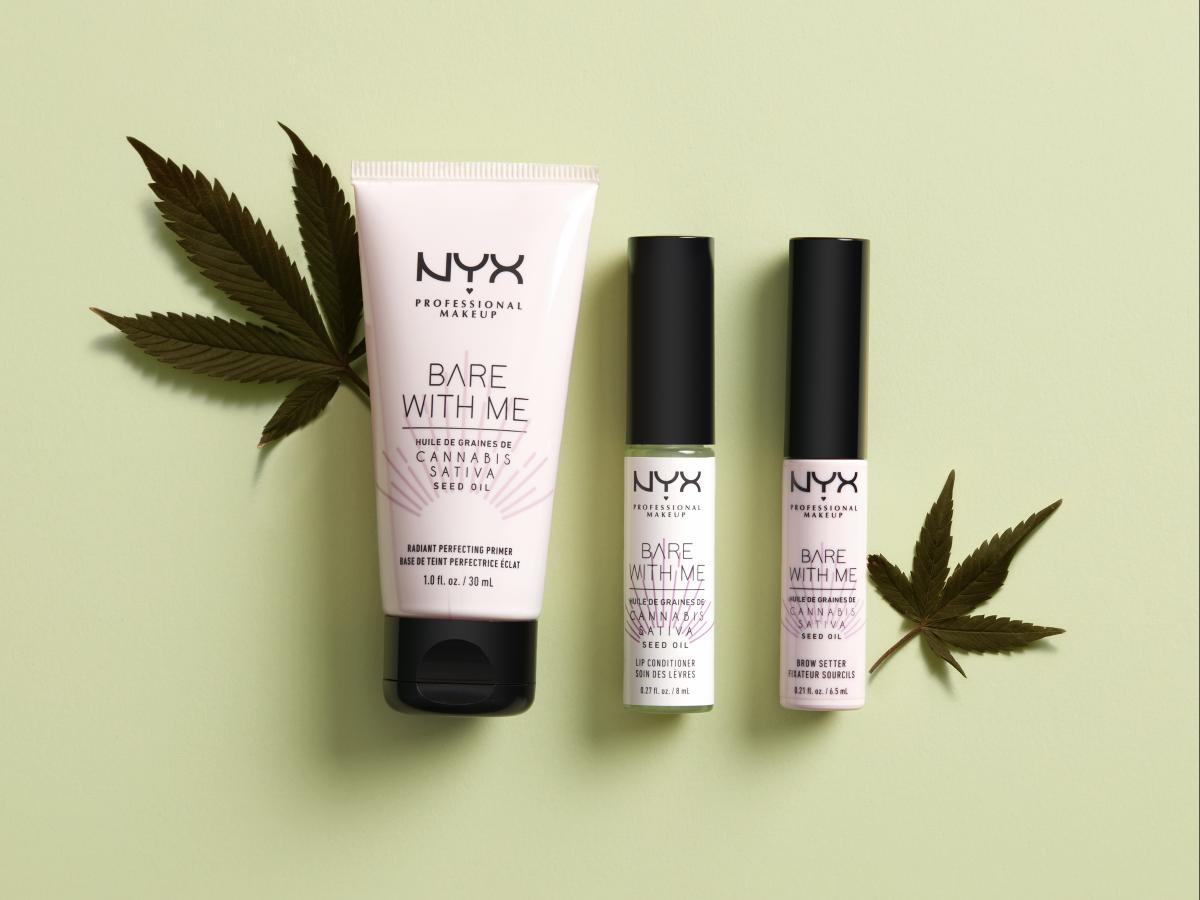 NYX integra productos con cannabis a su línea de cosméticos