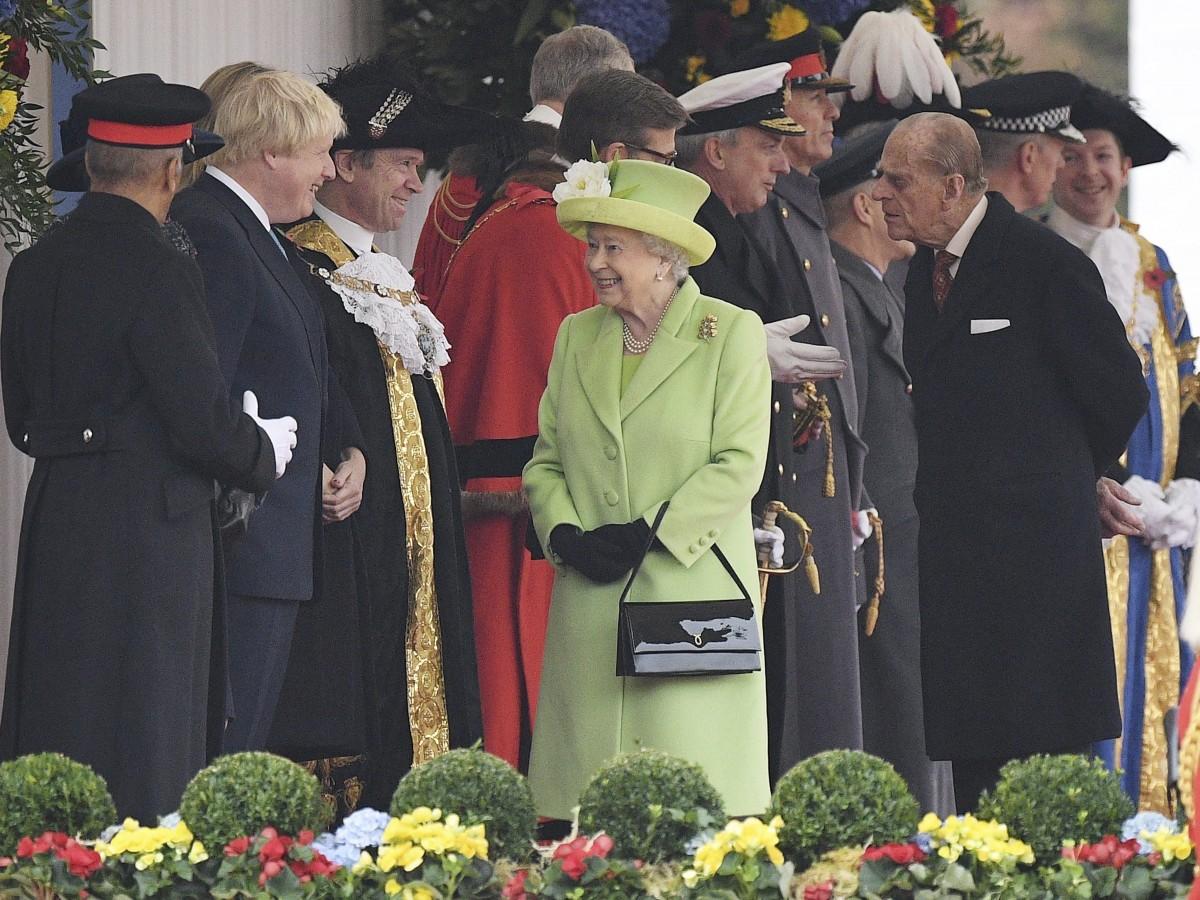 El primer ministro del Reino Unido lamenta la muerte del duque de Edimburgo