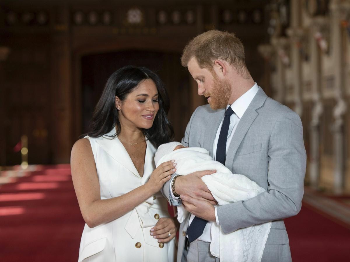 Harry y Meghan comparten tierna foto de su bebé Archie