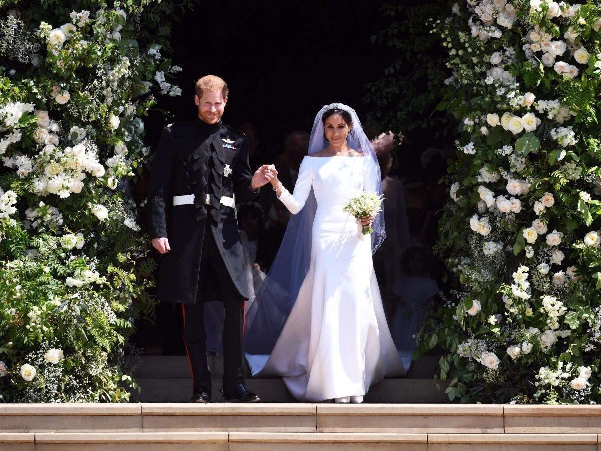 Los vestidos de boda de Meghan y Harry se exhiben en Edimburgo