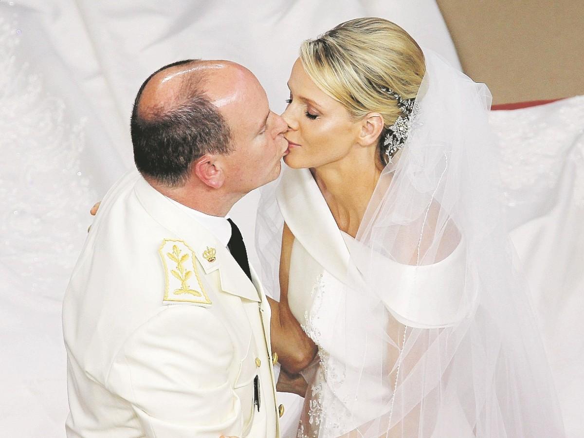 Albert y Charlène de Mónaco cumplen 10 años de matrimonio