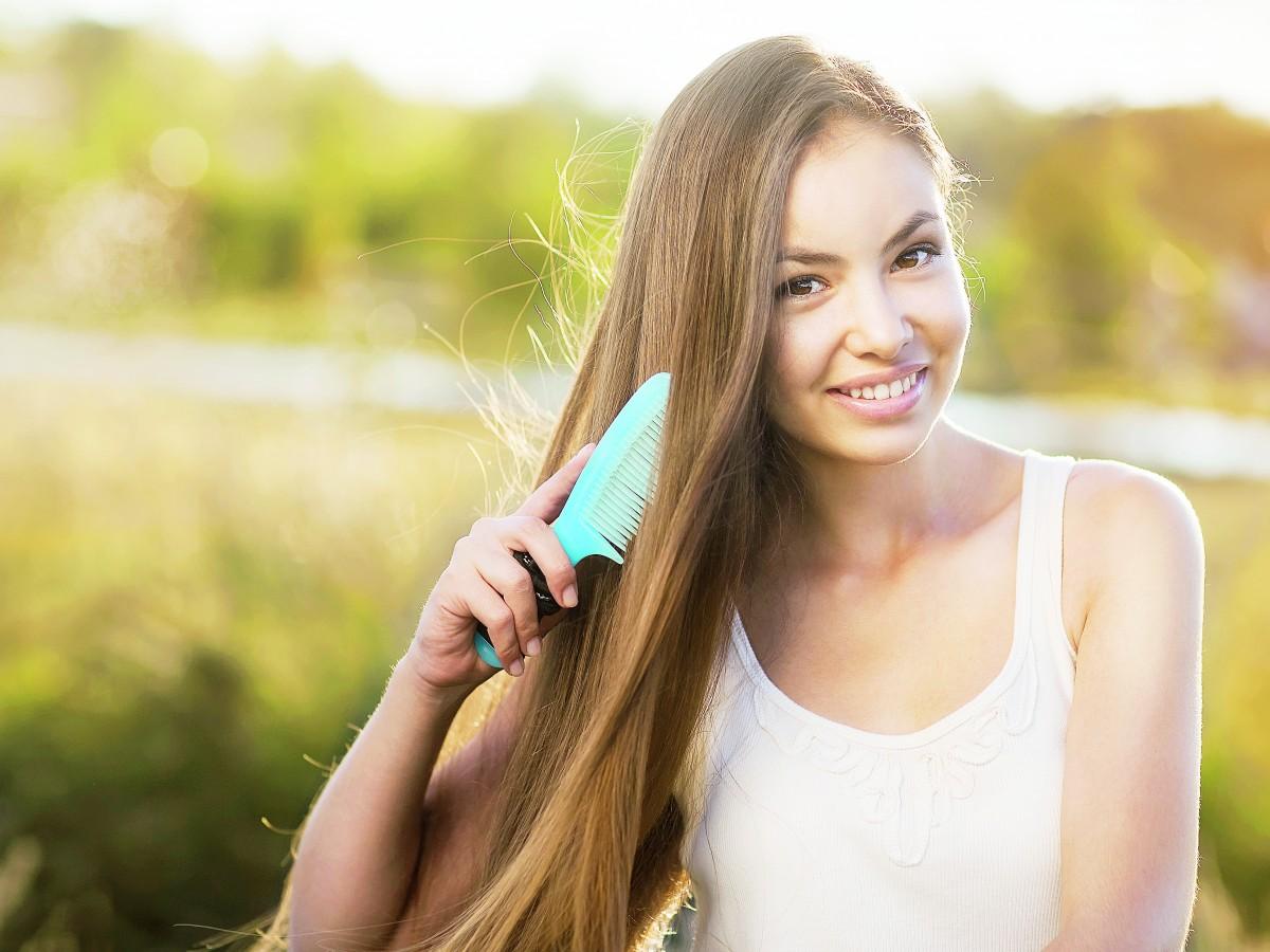Evita las puntas abiertas del cabello