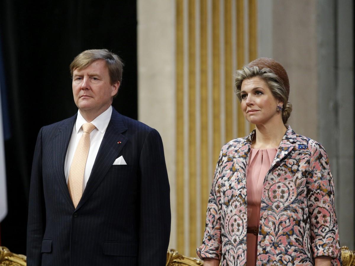 El rey de Holanda celebra su cumpleaños sin la tradicional fiesta nacional