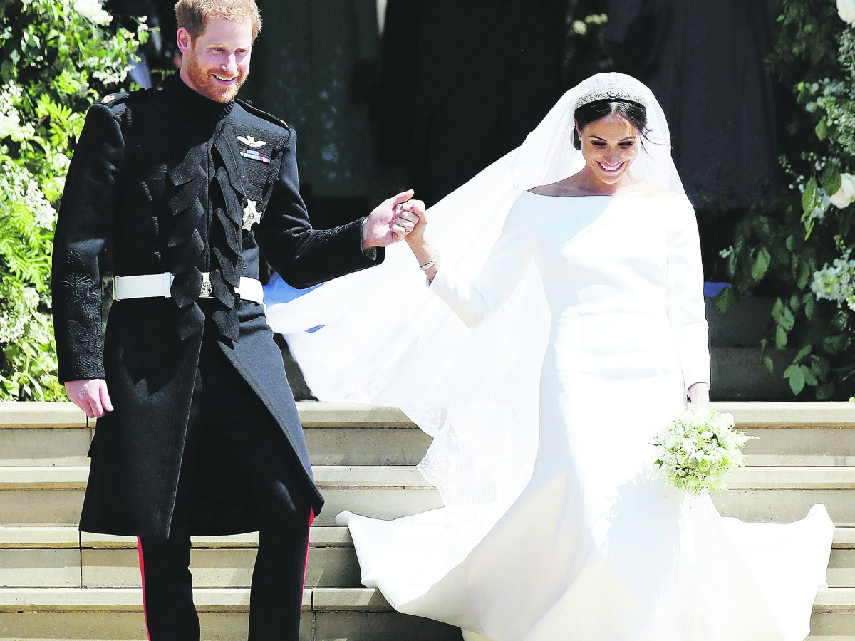 Renuncia a Givenchy la diseñadora del traje de novia de Meghan Markle