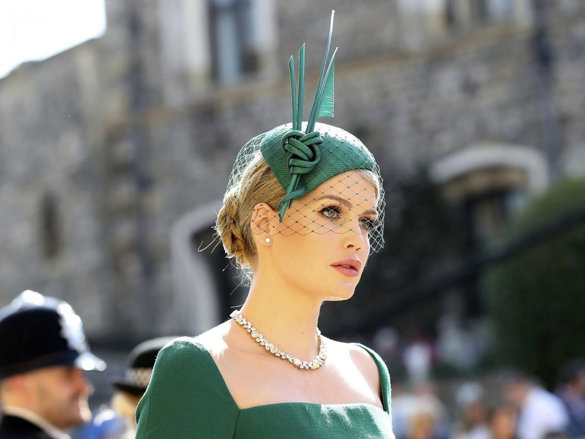 Lady Kitty Spencer, sobrina de Lady Di, se casó con un multimillonario 32 años mayor