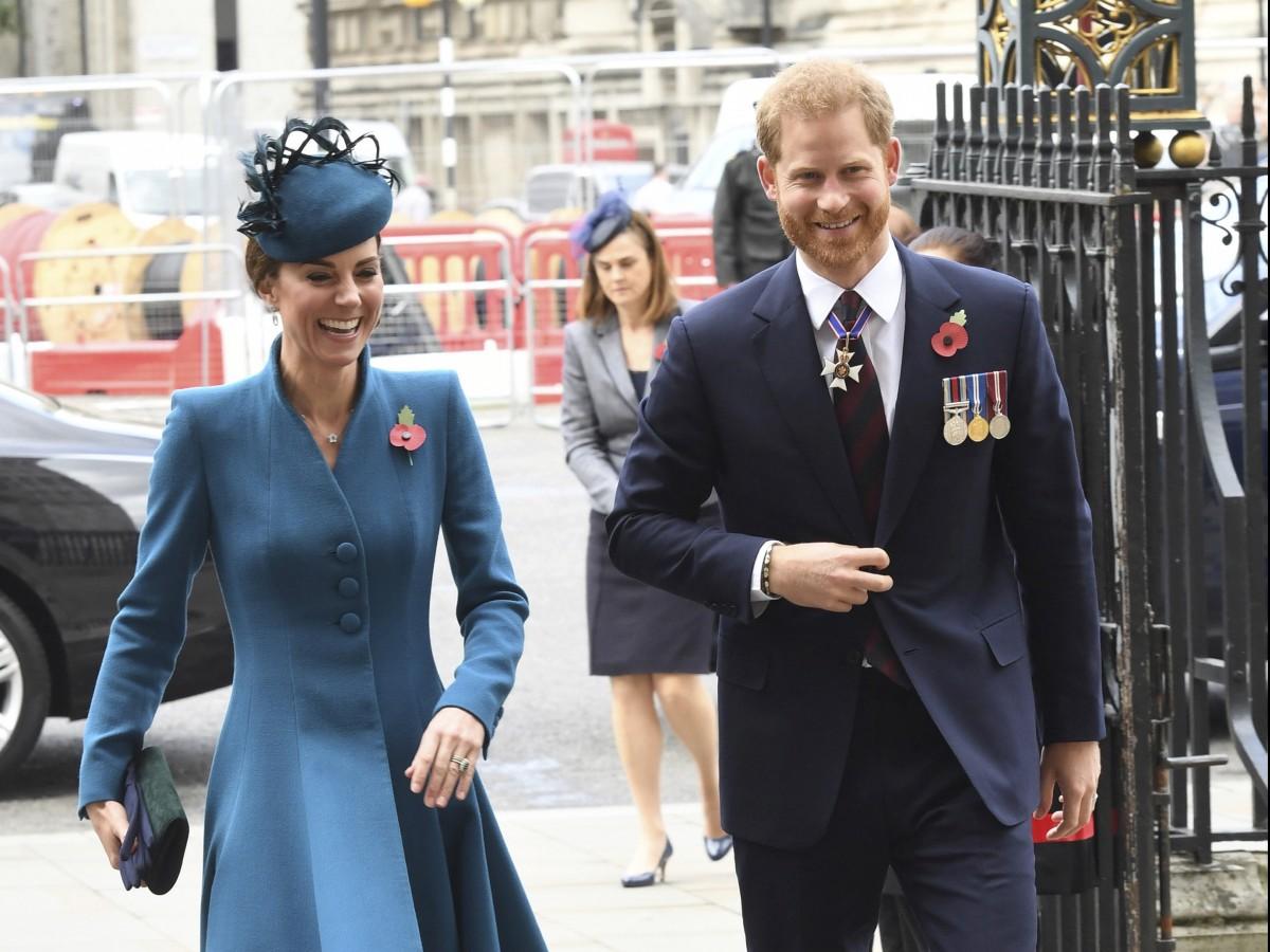 Kate Middleton asume algunas de las funciones del príncipe Harry