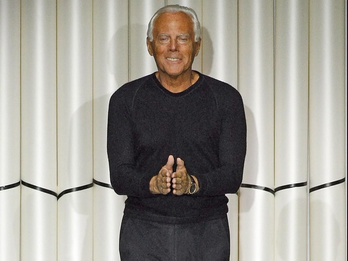 Giorgio Armani: 85 años… y creando