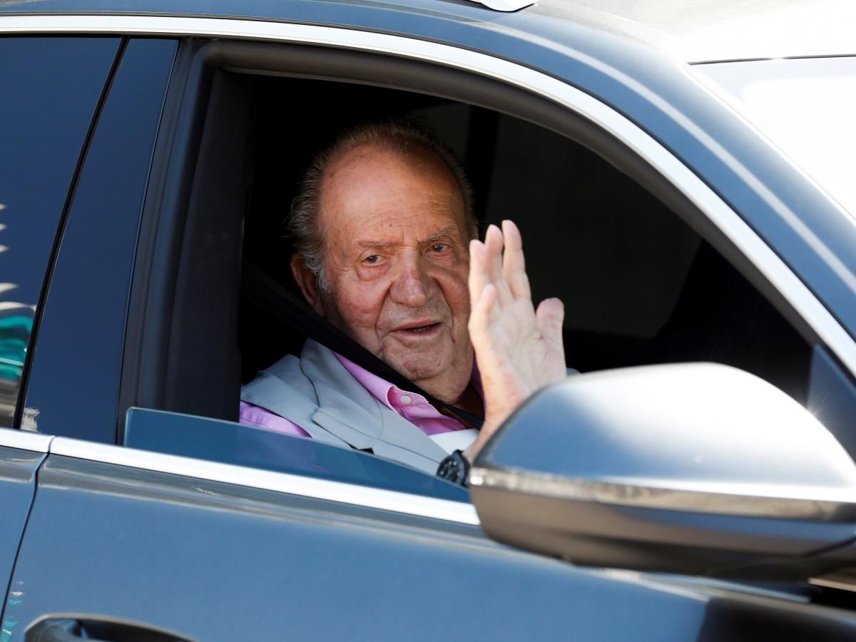 Programa de televisión difunde la primera imagen del rey Juan Carlos en Abu Dabi