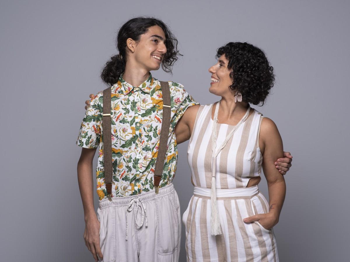 Madre e hijo crean Eco Factoría, una marca de diseño sustentable