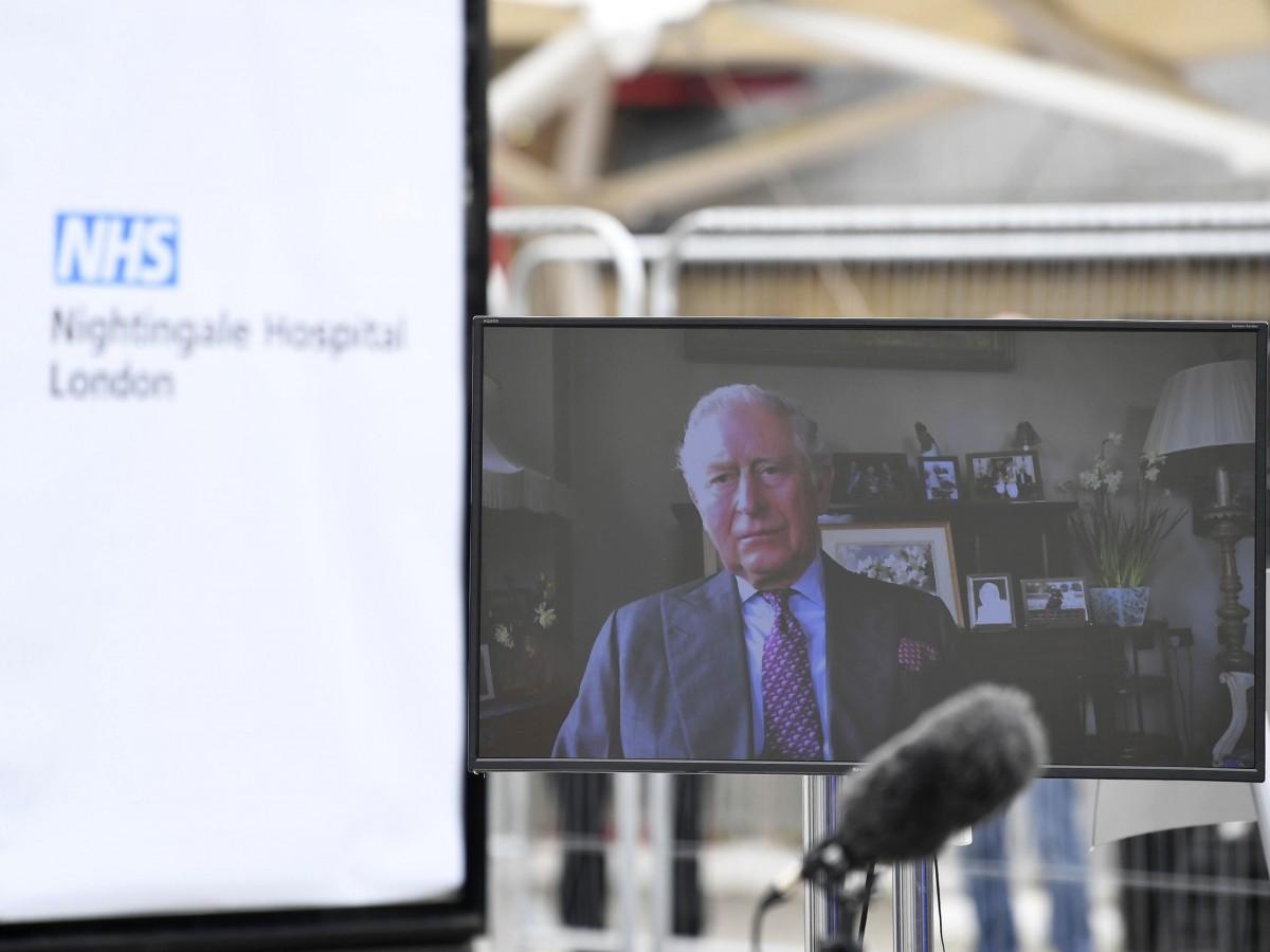 El príncipe Charles abre un hospital en Londres