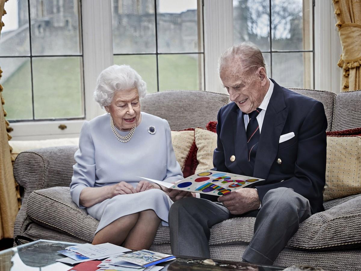 La reina Elizabeth II y el príncipe Philip pasarán Navidad en Windsor