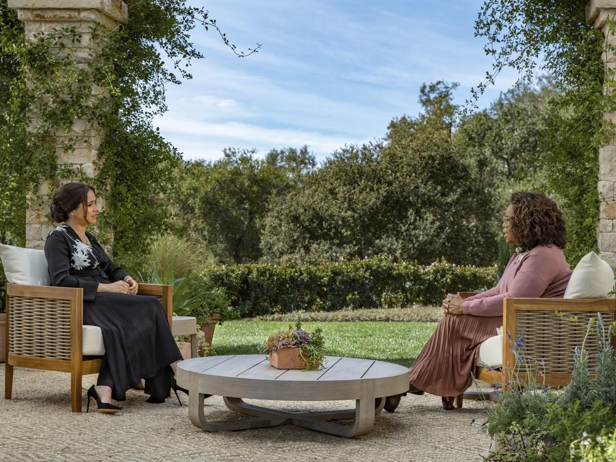Cinco datos sobre la entrevista de Meghan y Harry con Oprah Winfrey