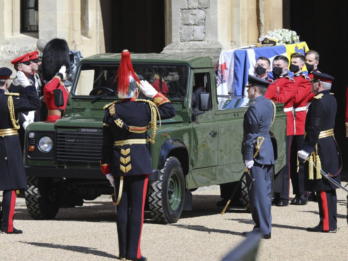 Dan el último adiós al Príncipe Philip de Inglaterra