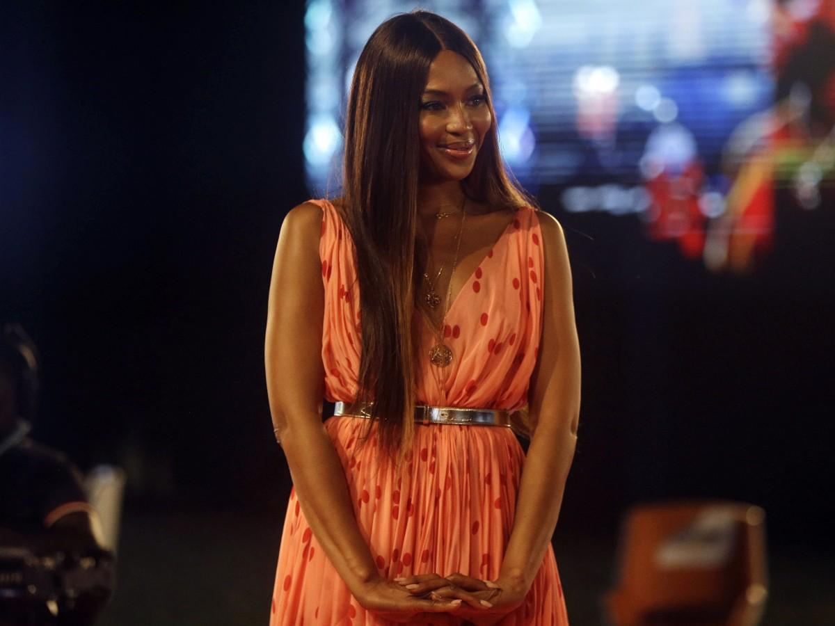Naomi Campbell se convierte en madre a los 50 años