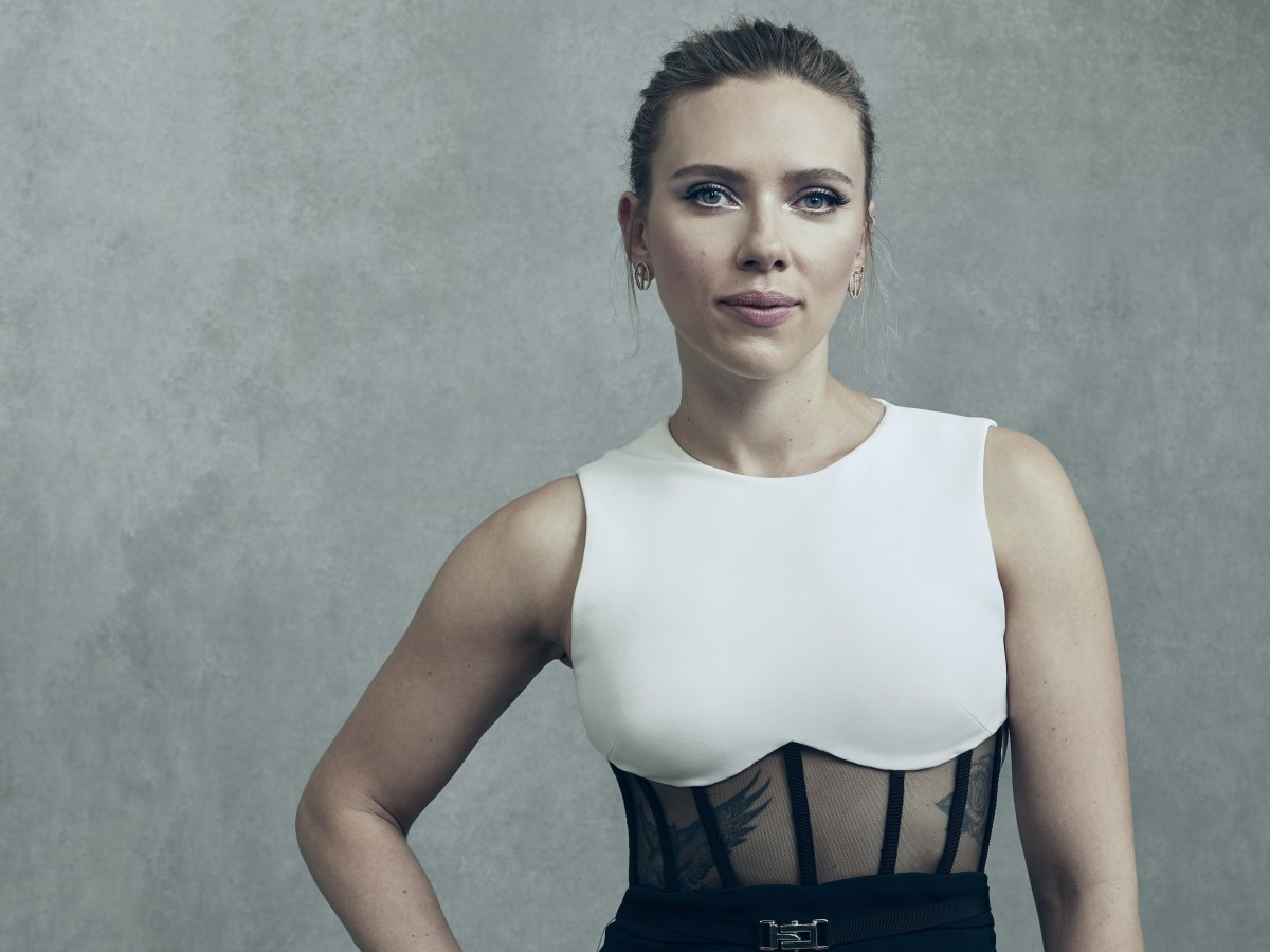 El momento de Scarlett Johansson