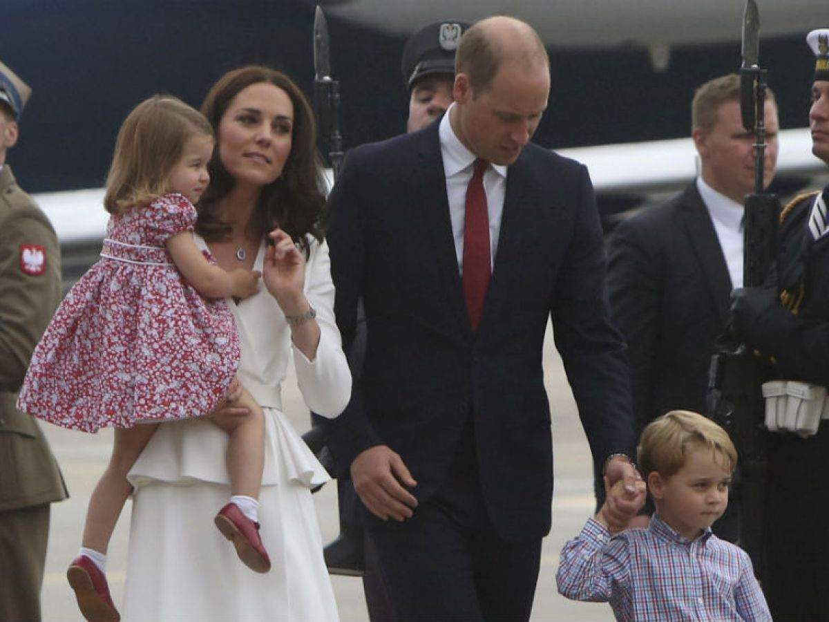 El Príncipe William Y Su Esposa Kate Inician Viaje Diplomático En Polonia Magacín