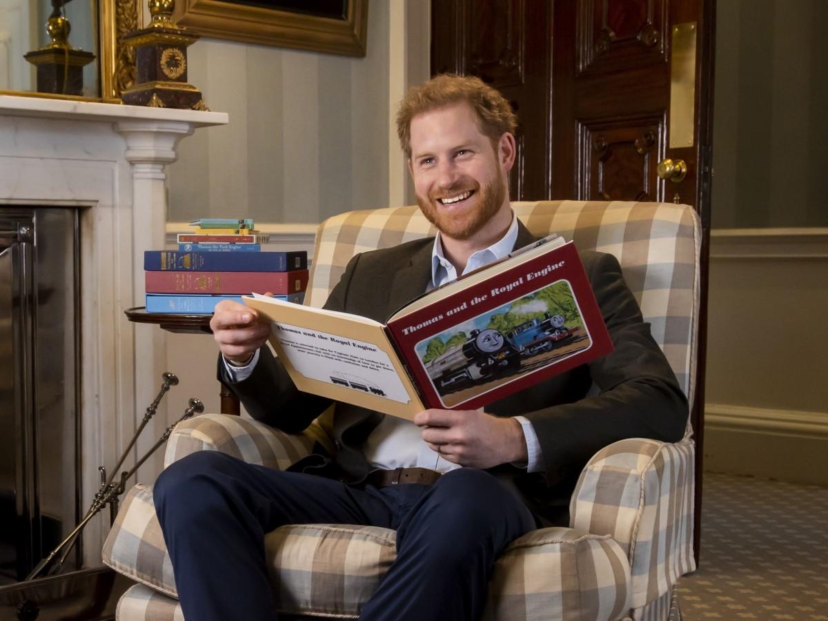 """El príncipe Harry llega a Netflix con un especial animado de """"Thomas y sus amigos"""""""