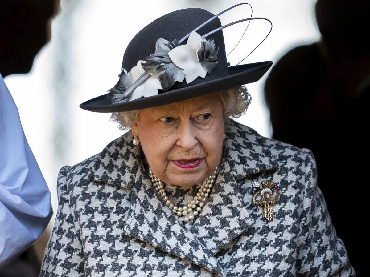 Los hijos de Elizabeth II la visitan en Windsor