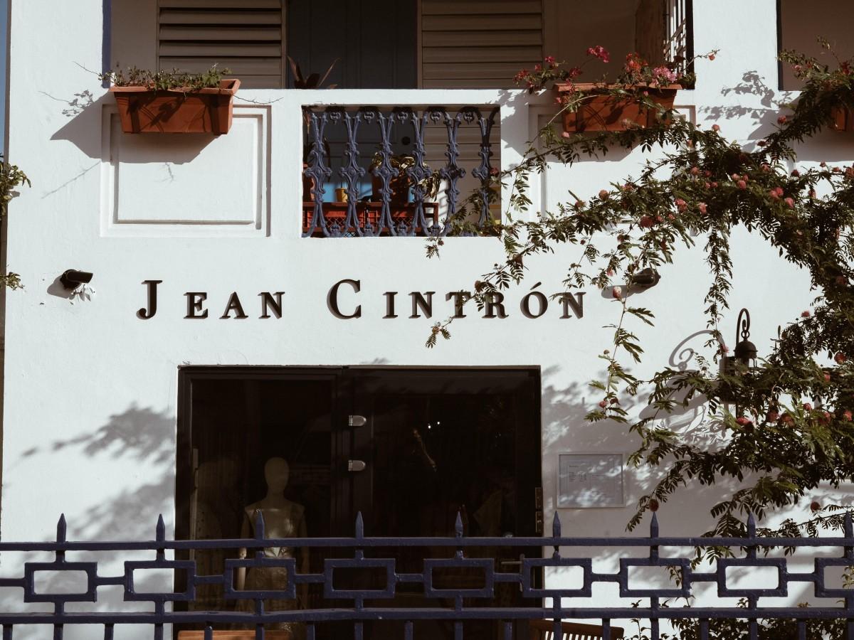 Jean Cintrón abre tienda en la calle Cerra