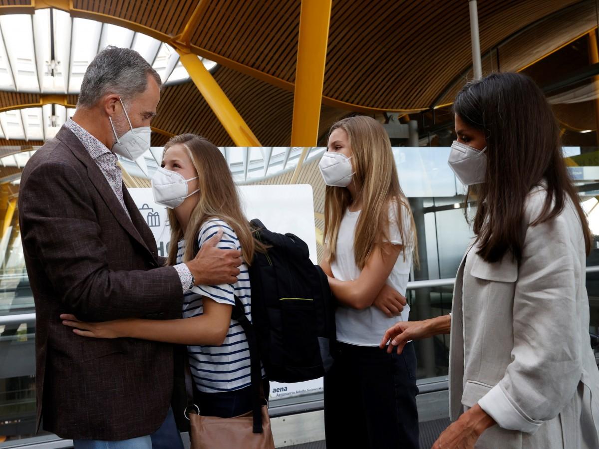 La princesa Leonor empieza bachillerato en un exclusivo colegio de Gales