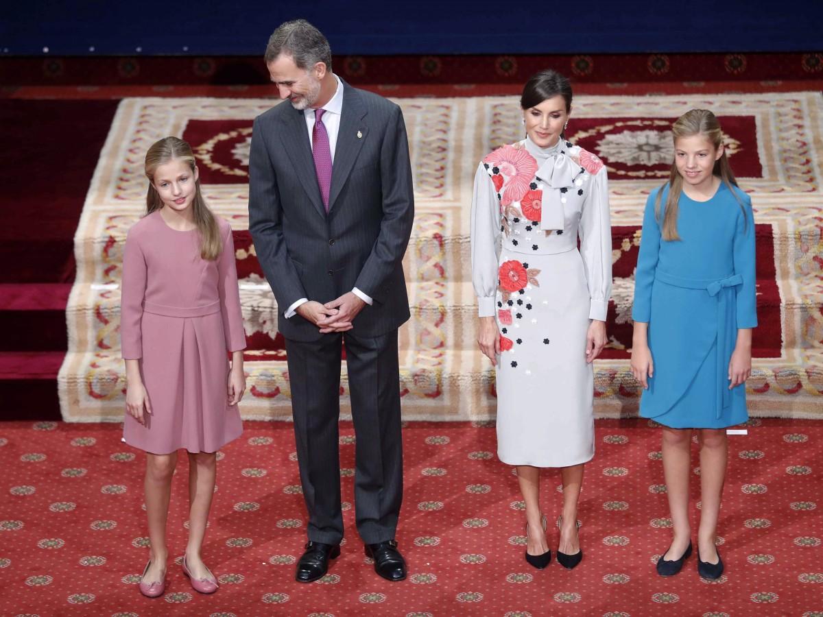 Serena y calmada la princesa Leonor en su cita histórica en los Premios Princesa de Asturias