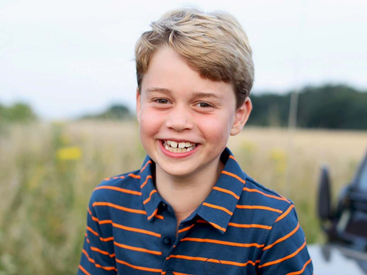 El príncipe George cumple ocho años