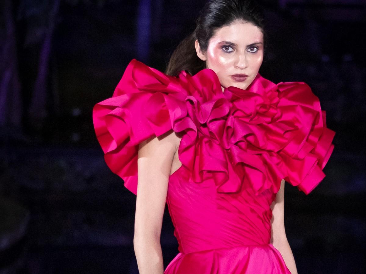 Marcos Carrazana muestra el lado glamouroso de la moda que se impondrá este año