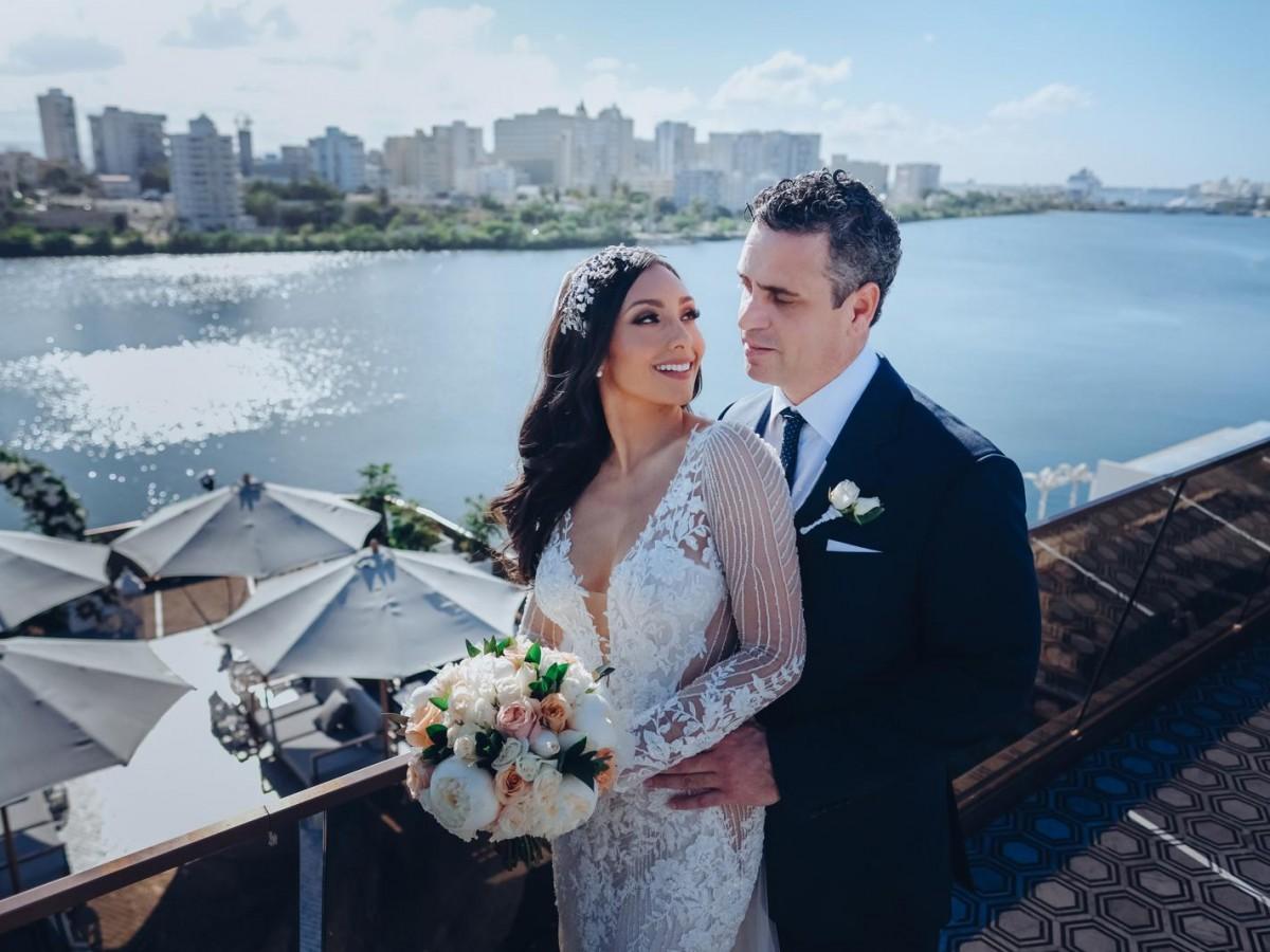 Nicole Chacón se casó con el publicista Roberto González