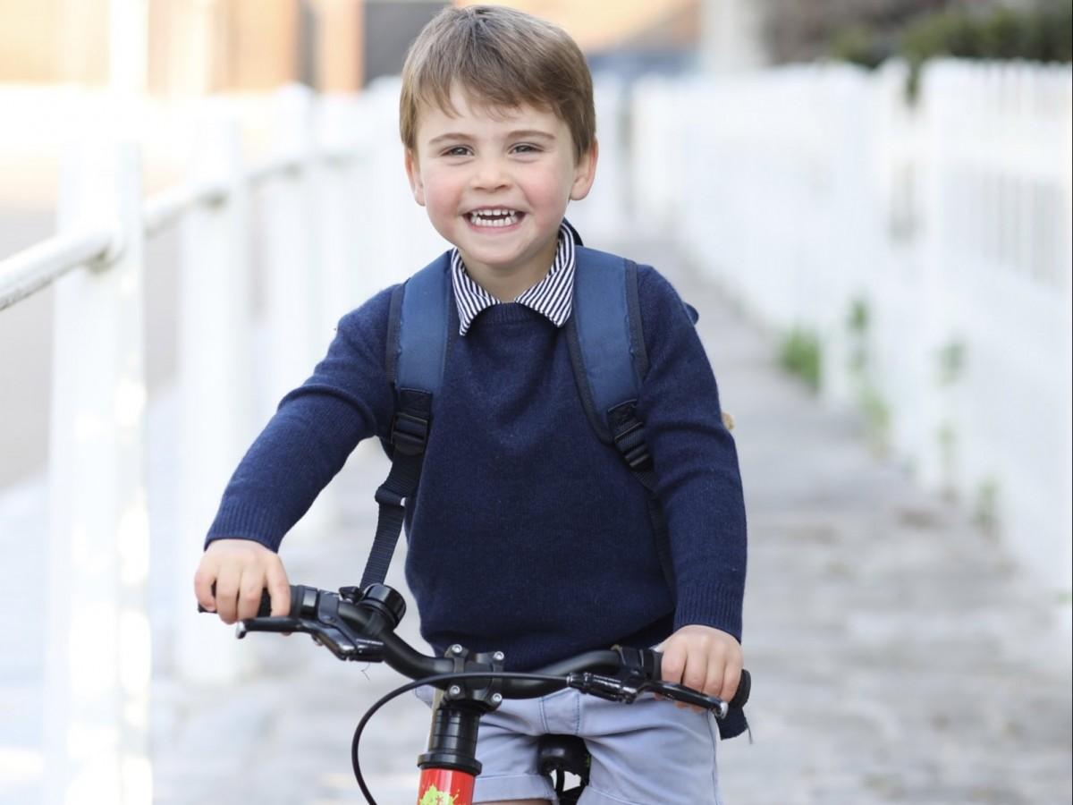 El príncipe Louis podría heredar el título de su bisabuelo