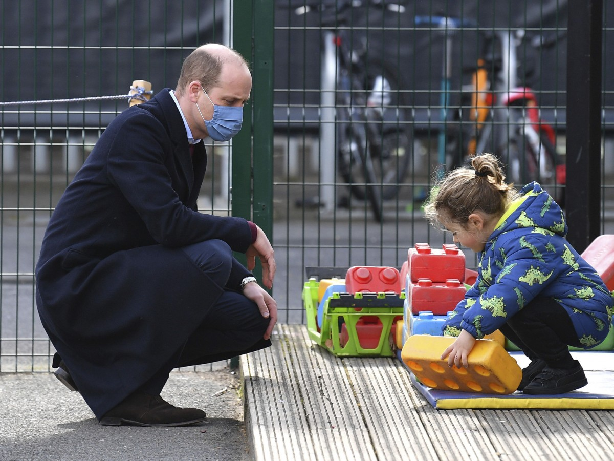William niega que la familia real sea racista