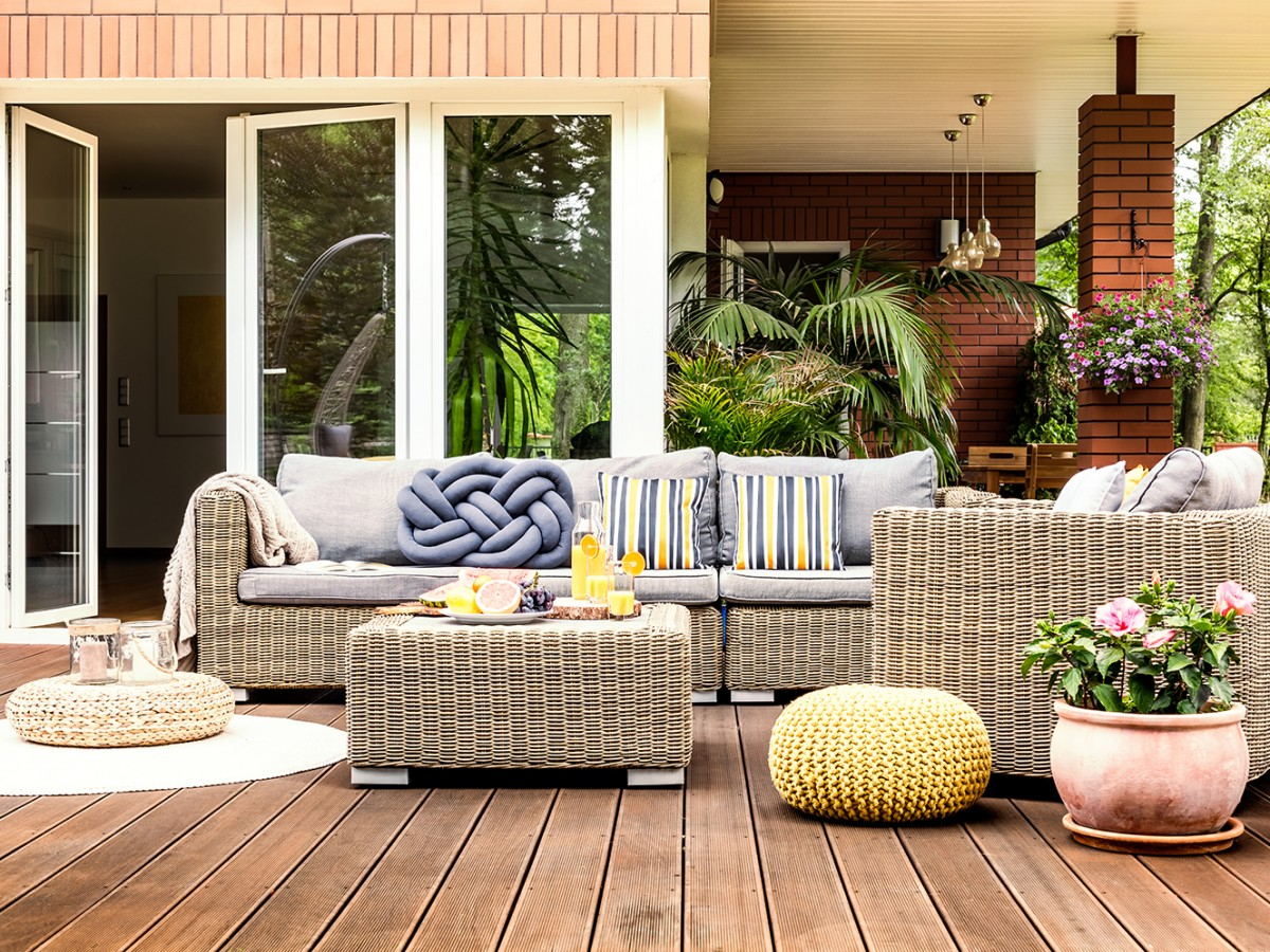 Convierte la terraza en tu área favorita