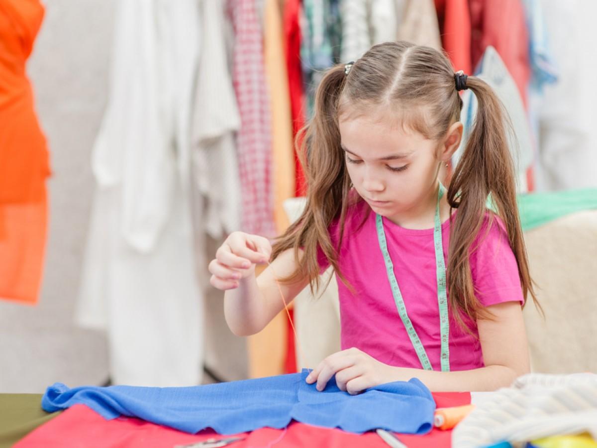 Campamento de moda virtual para niñas