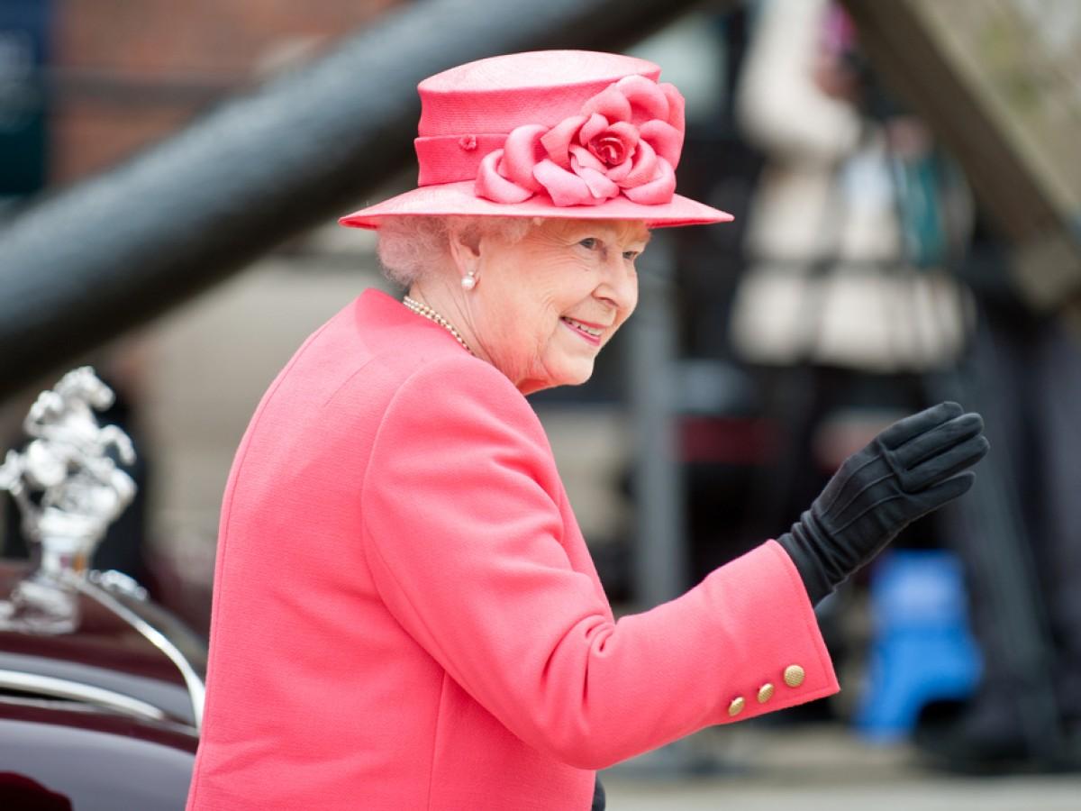 Miembros de la realeza británica conmemoran el 75 aniversario del fin de la II Guerra Mundial