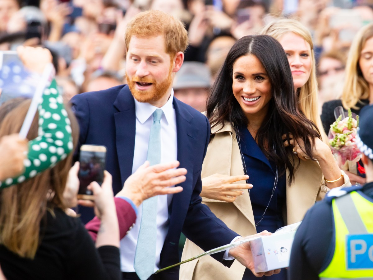 Harry y Meghan, tema prohibido con la reina Elizabeth II