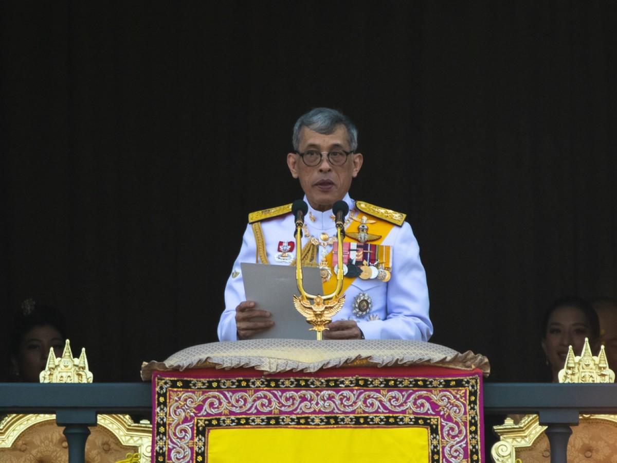 El rey de Tailandia no podrá celebrar su primer año de coronación