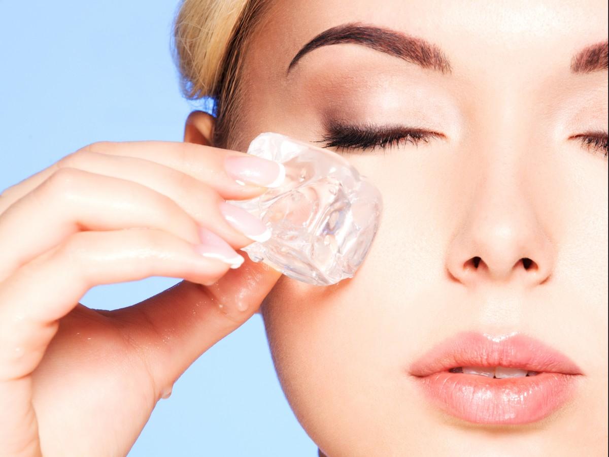 Ventajas de la hieloterapia facial