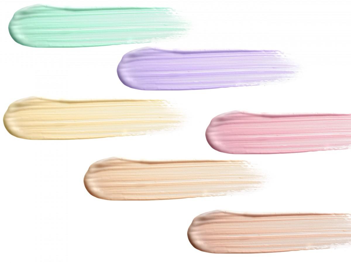 Correctores: un color para cada imperfección