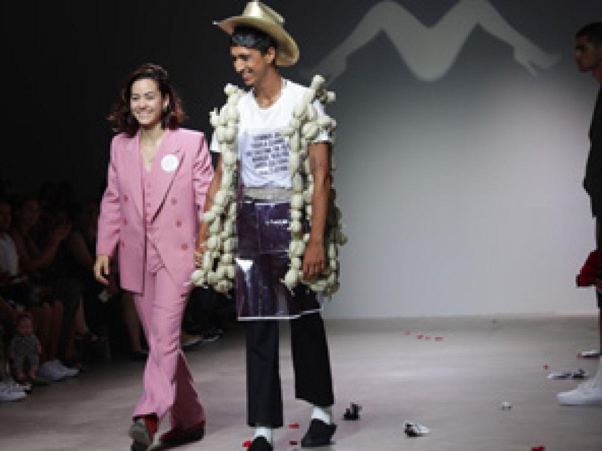 Diseñadora mexicana se destaca en Semana de Moda Masculina de Nueva York
