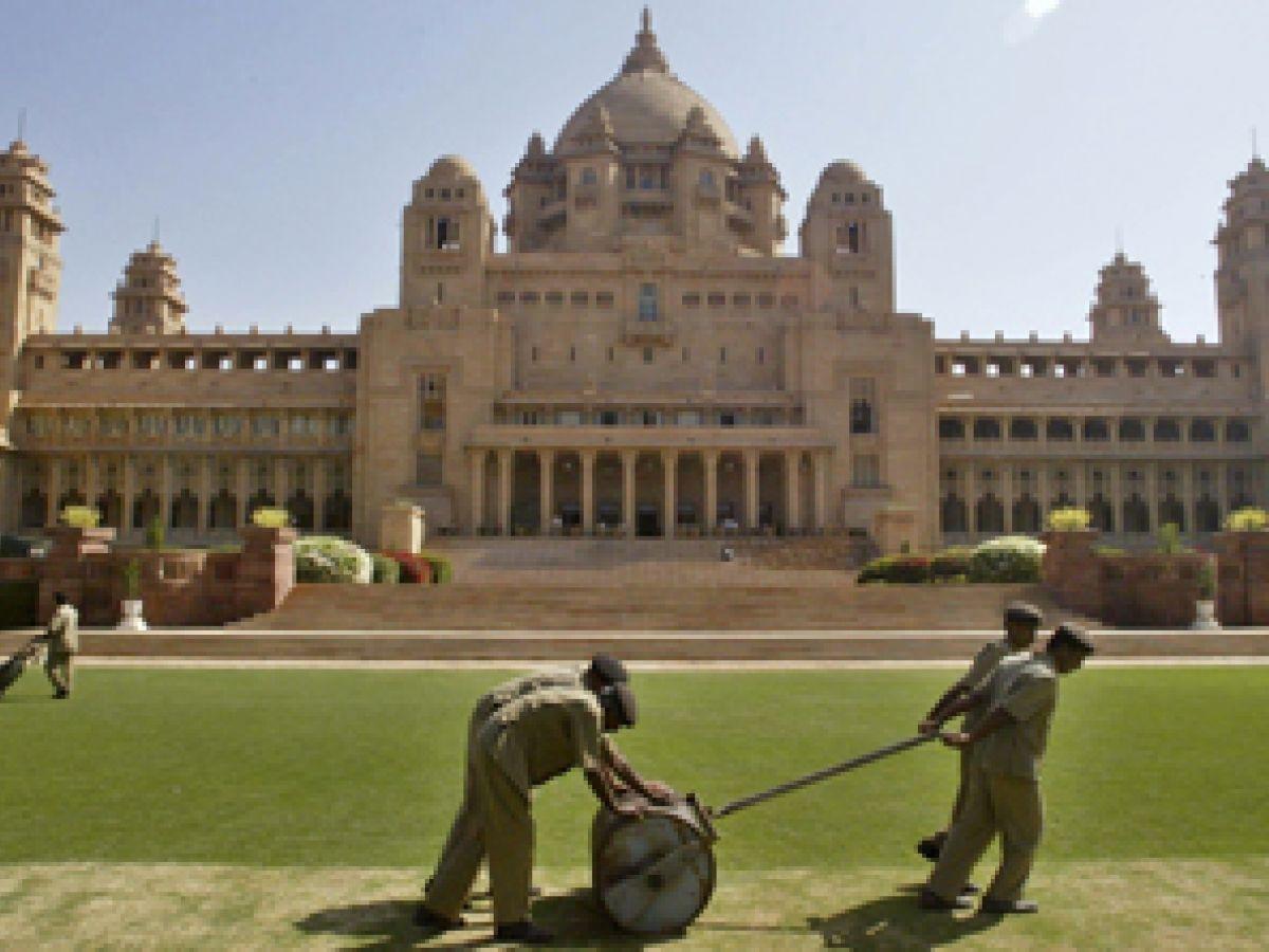 Último palacio real indio sobrevive al paso de la historia
