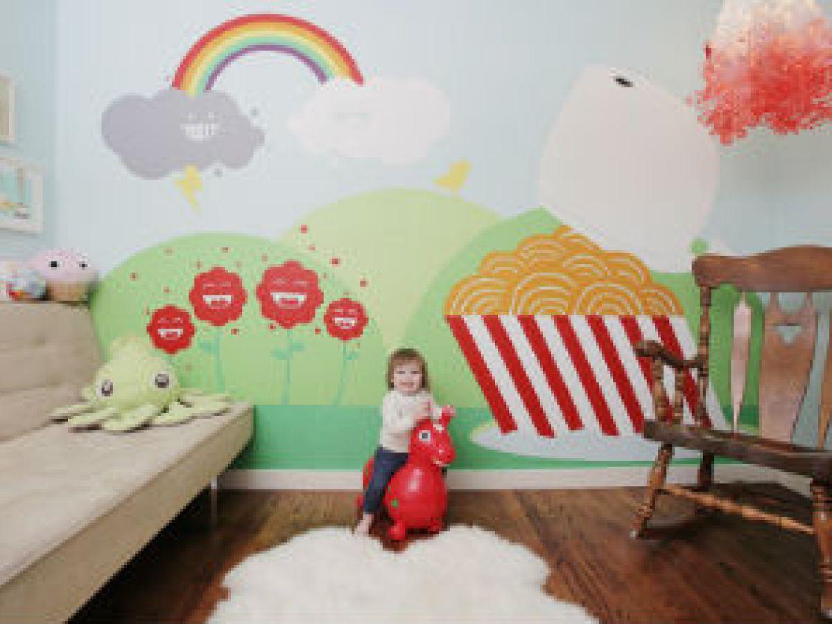 Habitación de los niños, un taller para la imaginación