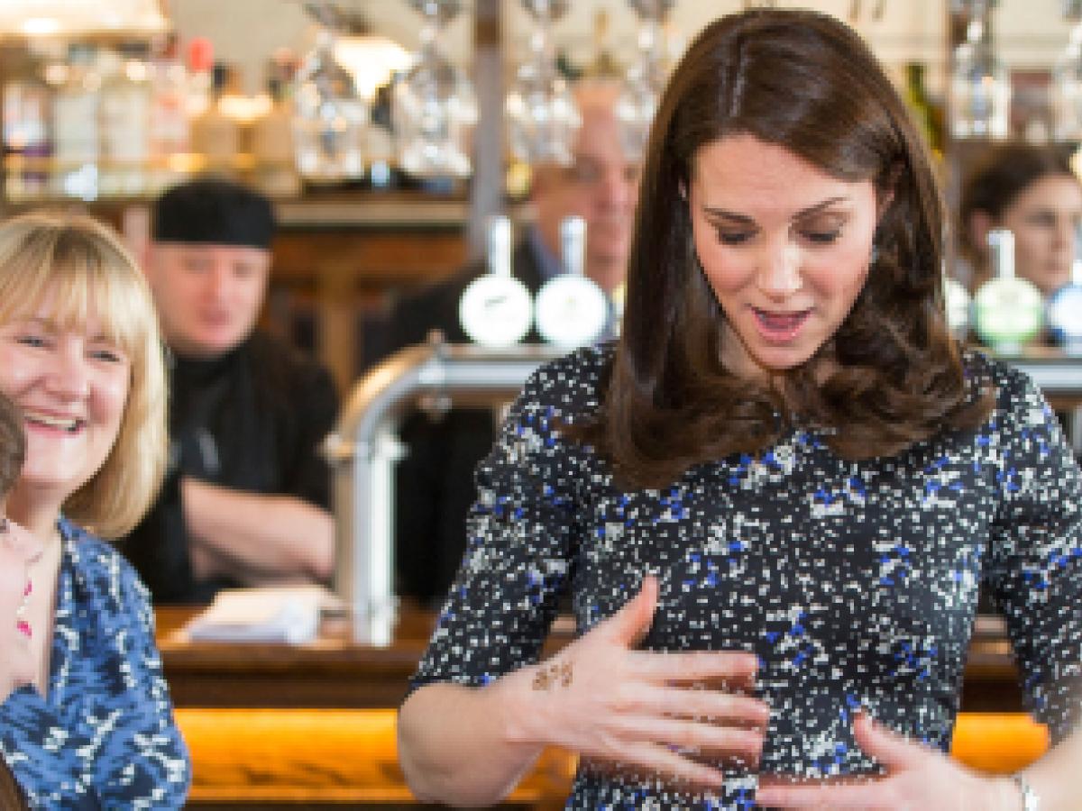 El protocolo que Kate deberá seguir para dar a luz a su tercer hijo