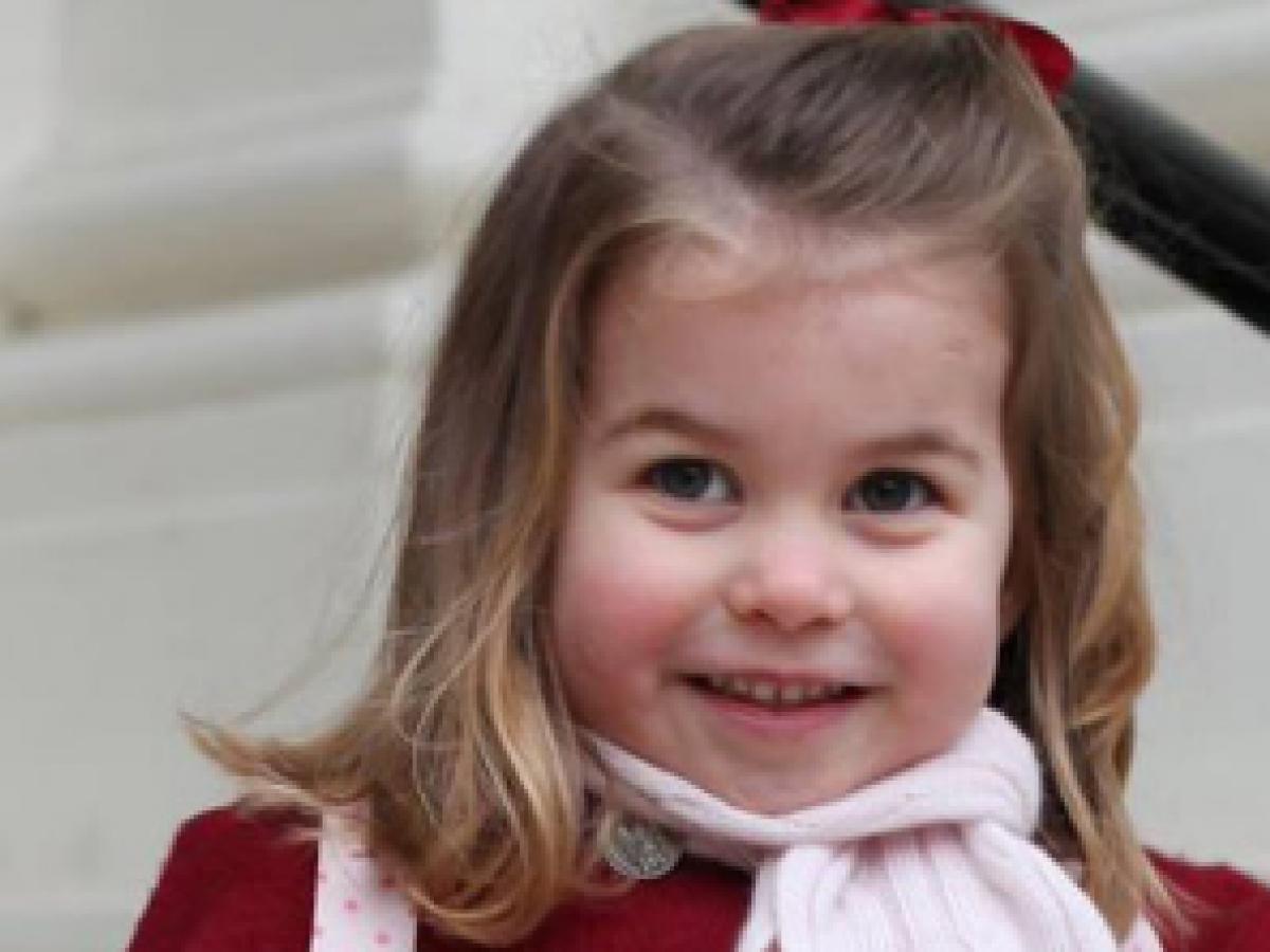 La princesa Charlotte celebra su tercer cumpleaños