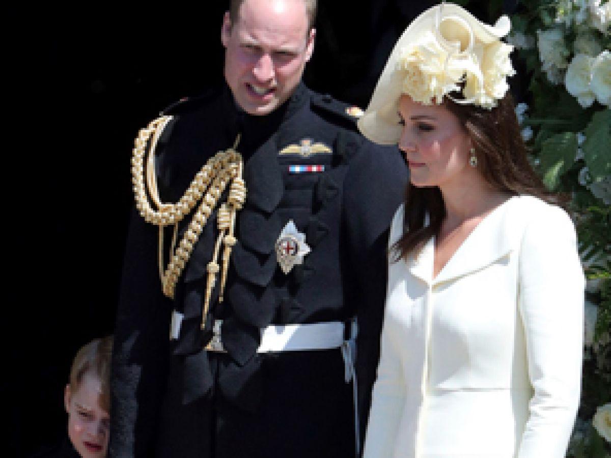 Kate Middleton deslumbró con su look en la boda de su cuñado