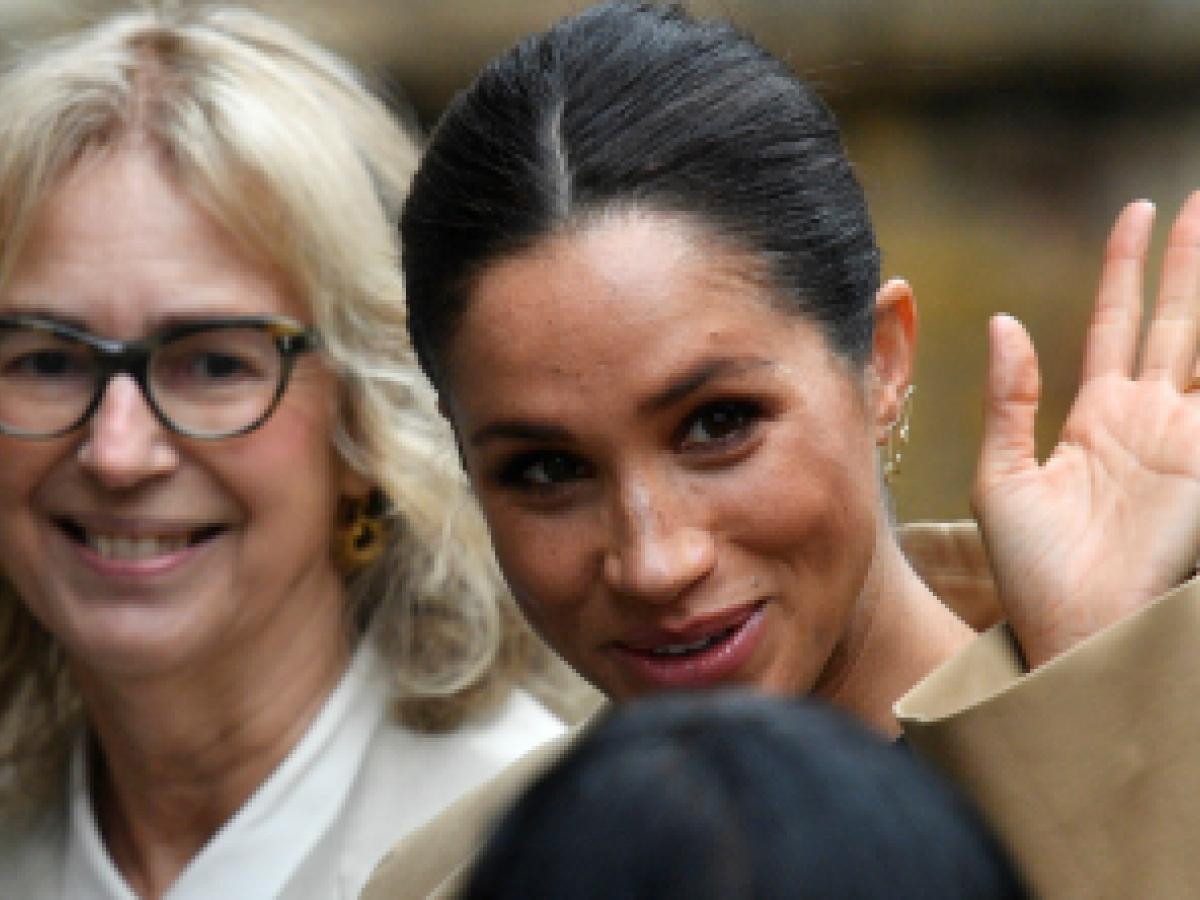 La duquesa de Sussex asume el patrocinio de cuatro entidades