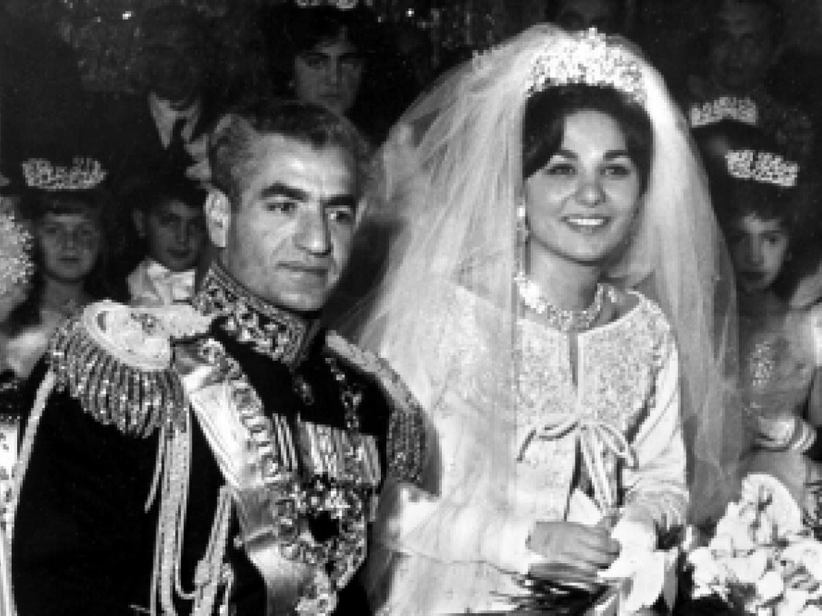 La verdadera historia de Fara Diva junto al último Sha de Persia